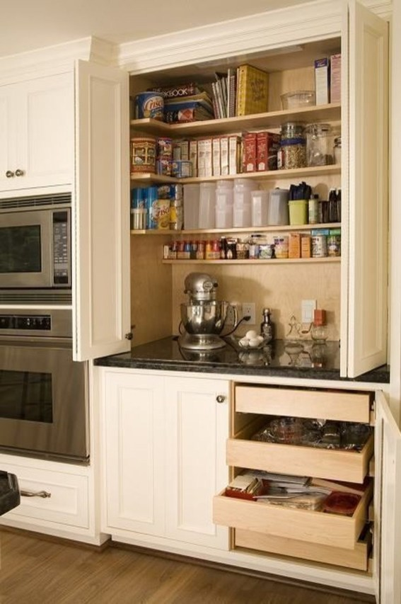 Simple Kitchen Storage Design Ideas That You Want To Try 47
