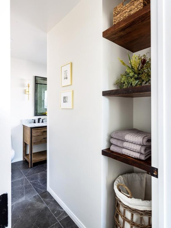Smart Space Saving Bathroom Solutions Ideas That You Need To Copy 46