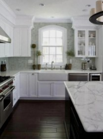 Top White Kitchen Cabinetry Design Ideas That Looks More Modern 11