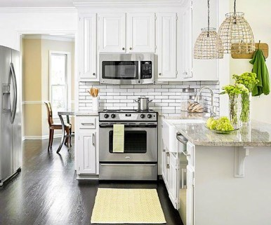 Top White Kitchen Cabinetry Design Ideas That Looks More Modern 28