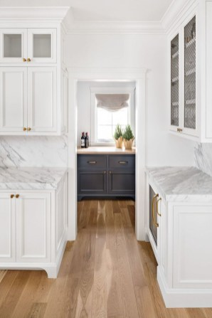 Top White Kitchen Cabinetry Design Ideas That Looks More Modern 45