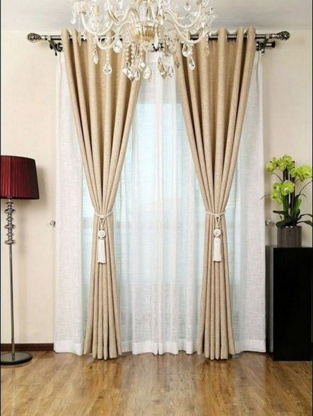 Wonderful Farmhouse Curtains Decor Ideas For Living Room To Try Asap 19