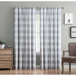 Wonderful Farmhouse Curtains Decor Ideas For Living Room To Try Asap 31