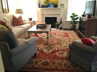 Best Ideas For Traditional Living Rooms With Oriental Rugs 04