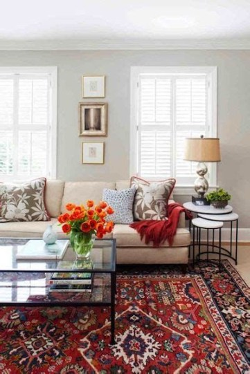 Best Ideas For Traditional Living Rooms With Oriental Rugs 24