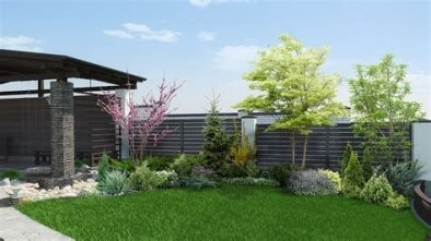 Brilliant Front Yard Corner Lot Landscaping Ideas 05