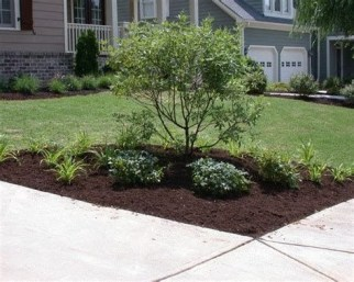 Brilliant Front Yard Corner Lot Landscaping Ideas 09