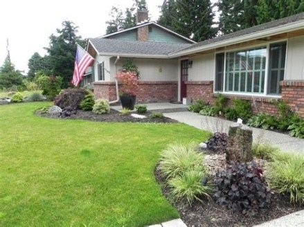 Brilliant Front Yard Corner Lot Landscaping Ideas 28