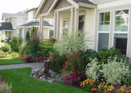 Brilliant Front Yard Corner Lot Landscaping Ideas 37