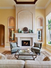 Cool Chimney Ideas For Living Room 18
