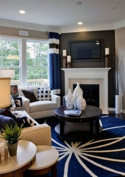 Cool Chimney Ideas For Living Room 22