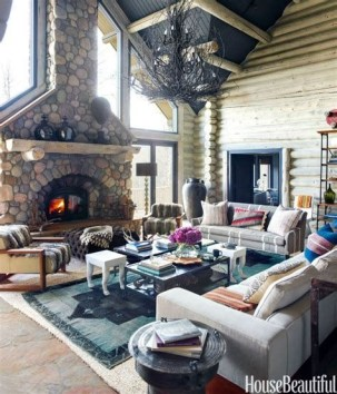 Cool Chimney Ideas For Living Room 23