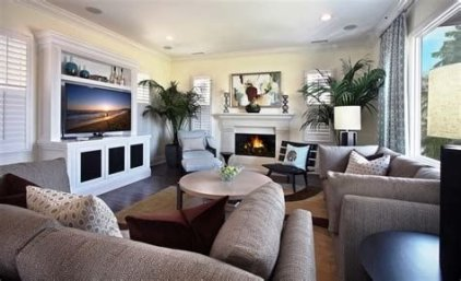 Cool Chimney Ideas For Living Room 27