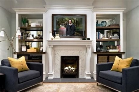 Cool Chimney Ideas For Living Room 34