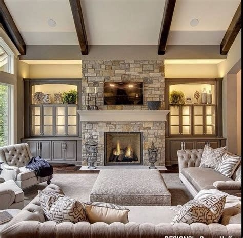 Cool Chimney Ideas For Living Room 37