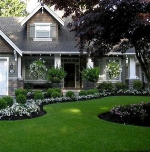 Stunning Front Yard Landscaping Ideas On A Budget 10