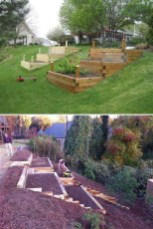 Totally Cute Sloped Backyard Landscaping Ideas 11