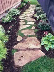 Totally Inspiring Front Yard Pathway Ideas 01