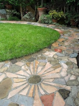 Totally Inspiring Front Yard Pathway Ideas 07