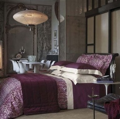 Awesome Burgundy And Grey Bedroom Ideas 01