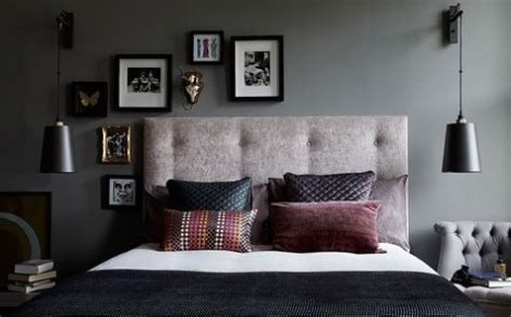 Awesome Burgundy And Grey Bedroom Ideas 11