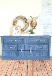 Cool Navy Painted Bedroom Furniture Ideas 19