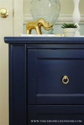 Cool Navy Painted Bedroom Furniture Ideas 20