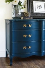 Cool Navy Painted Bedroom Furniture Ideas 26
