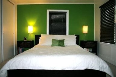 Creative Sage Green Accent Wall Bedroom Ideas 15