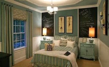 Creative Sage Green Accent Wall Bedroom Ideas 23