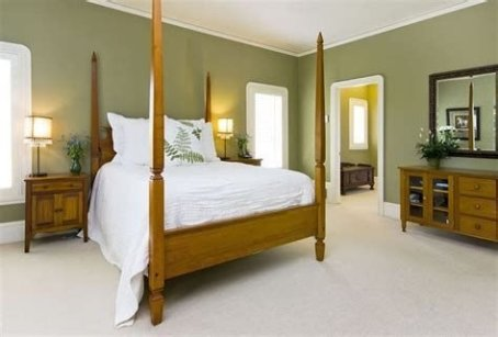 Creative Sage Green Accent Wall Bedroom Ideas 29