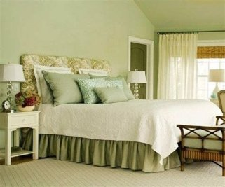 Creative Sage Green Accent Wall Bedroom Ideas 33