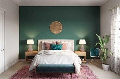 Creative Sage Green Accent Wall Bedroom Ideas 36