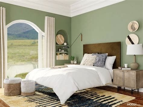 Creative Sage Green Accent Wall Bedroom Ideas 39