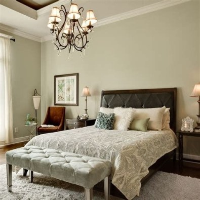 Creative Sage Green Accent Wall Bedroom Ideas 41