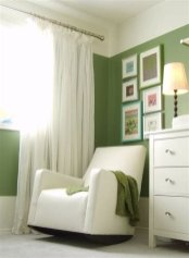 Lovely Two Tone Bedroom Paint Ideas 23