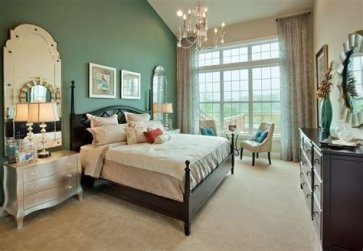 Lovely Two Tone Bedroom Paint Ideas 30
