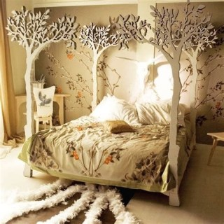 Most Popular Nature Themed Bedroom Ideas 06