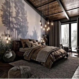 Most Popular Nature Themed Bedroom Ideas 38