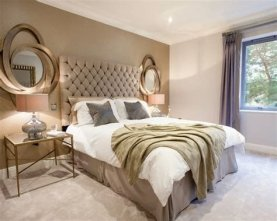 Totally Comfy White And Gold Themed Bedroom Ideas 13