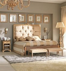 Totally Comfy White And Gold Themed Bedroom Ideas 21