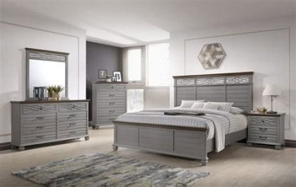 Totally Cute Charcoal Grey Bedroom Set Ideas 06