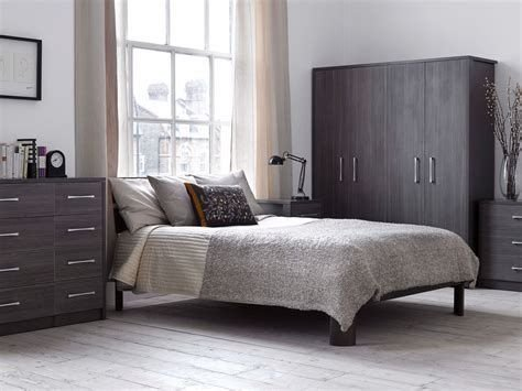 Totally Cute Charcoal Grey Bedroom Set Ideas 10