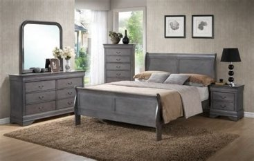 Totally Cute Charcoal Grey Bedroom Set Ideas 15