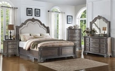 Totally Cute Charcoal Grey Bedroom Set Ideas 16