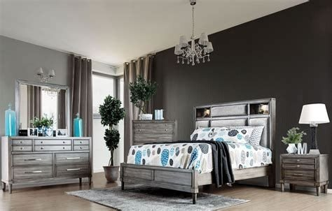 Totally Cute Charcoal Grey Bedroom Set Ideas 32