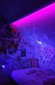 Amazing Aesthetic Rooms With Led Lights Ideas 20