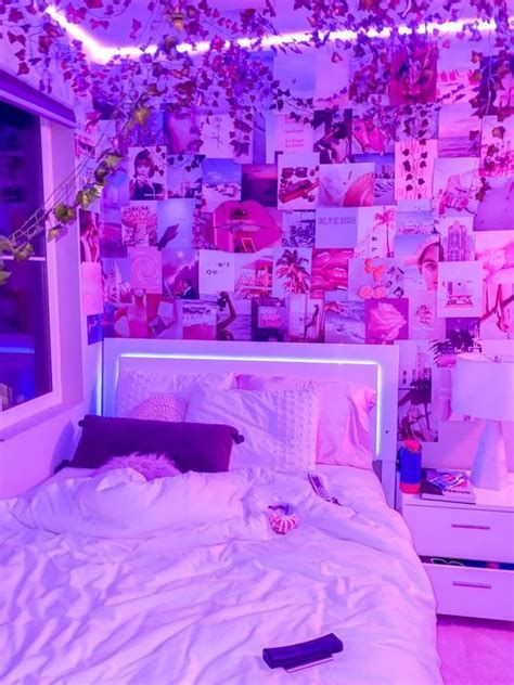 Amazing Aesthetic Rooms With Led Lights Ideas 24