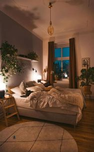Cool Aesthetic Bedroom Background Ideas 34