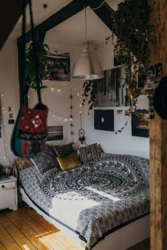 Cool Aesthetic Bedroom Background Ideas 43